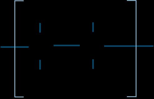 ポリプロピレン構造式
