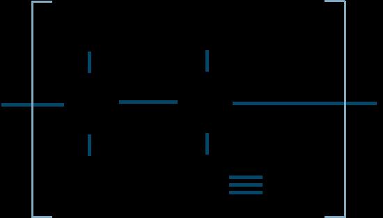 ポリアクリロニトリル構造式