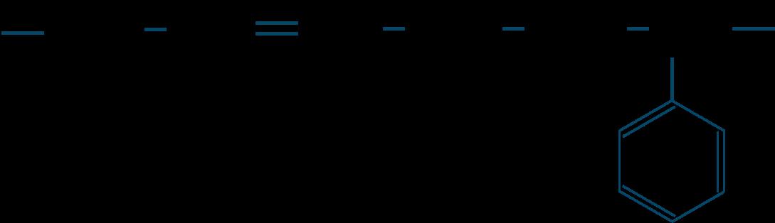 スチレンーブタジエンゴム構造式