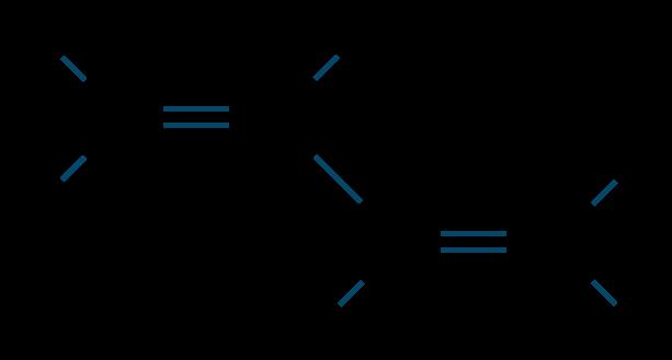ブタジエン構造式