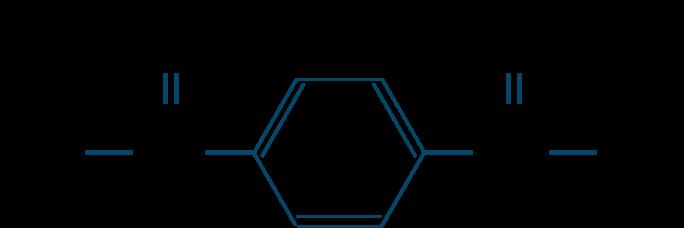 テレフタル酸ジクロリド構造式
