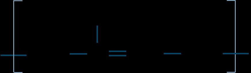 クロロプレンゴム構造式