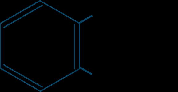 サリチル酸メチル構造式