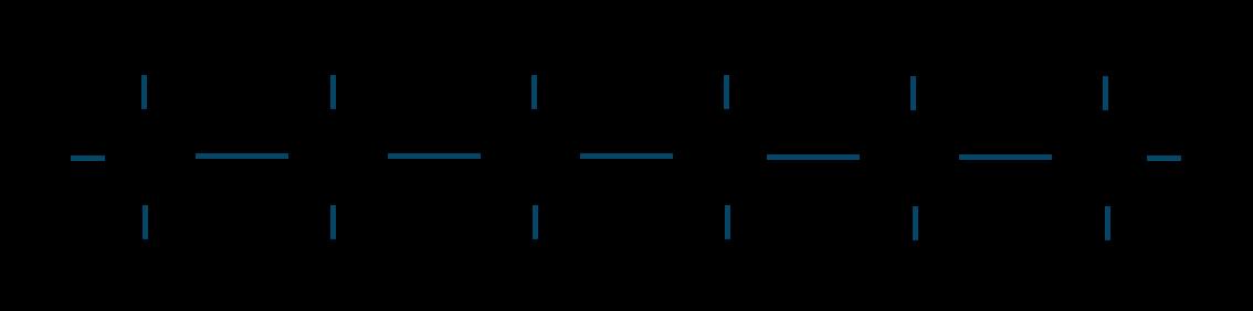 ヘキサン構造式
