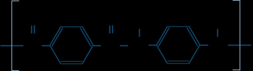 アラミド繊維構造式