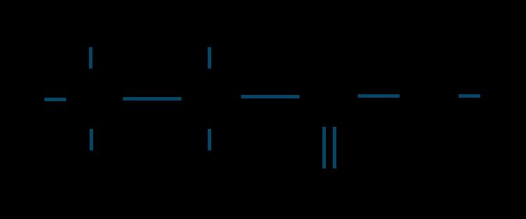 プロピオン酸構造式