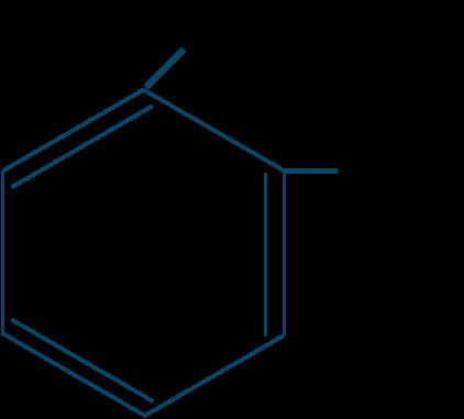 o-クレゾール構造式