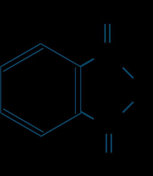 無水フタル酸構造式