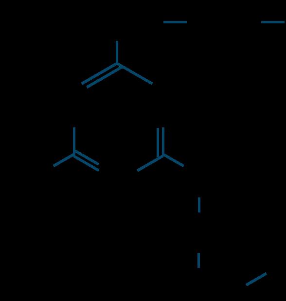 メラミン樹脂構造式