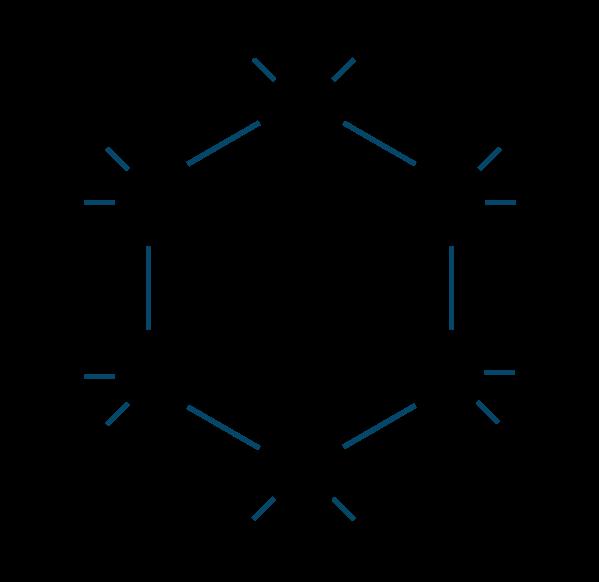 ヘキサクロロシクロヘキサン構造式