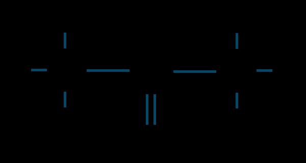 アセトン構造式