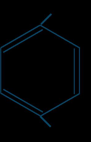 p-クレゾール構造式