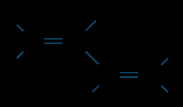イソプレン構造式