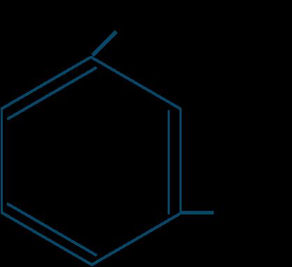 m-クレゾール構造式