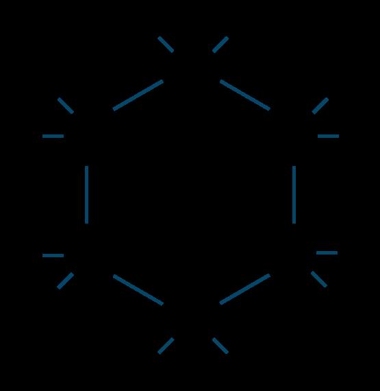 シクロヘキサン構造式