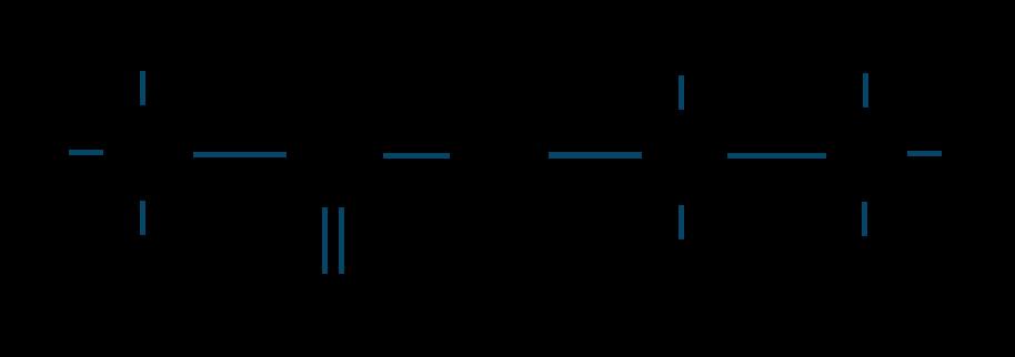 酢酸エチル構造式