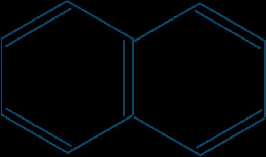 ナフタレン構造式