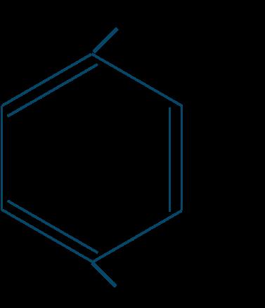 テレフタル酸構造式