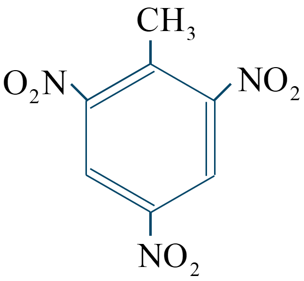 トリニトロトルエン構造式