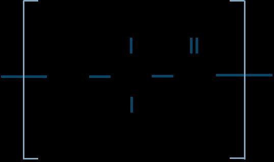 ポリ乳酸構造式