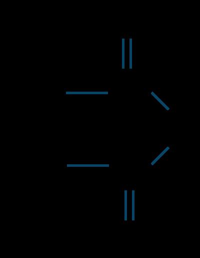 無水酢酸構造式
