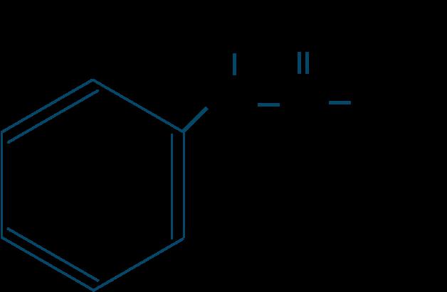 アセトアニリド構造式
