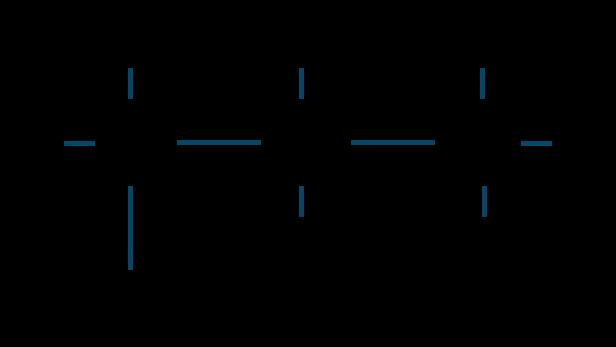 1-プロパノール構造式