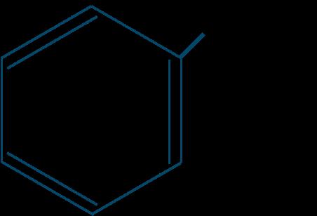 エチルベンゼン構造式