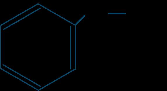 メチルフェニルエーテル構造式