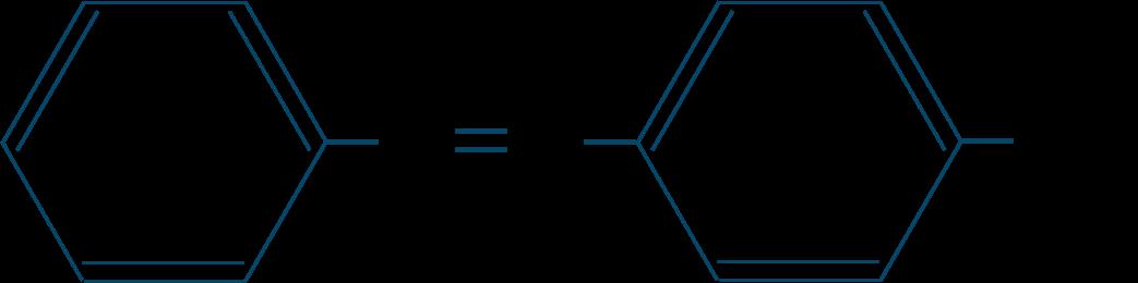 ヒドロキシアゾベンゼン・フェニルアゾフェノール構造式