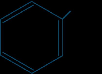 トルエン構造式