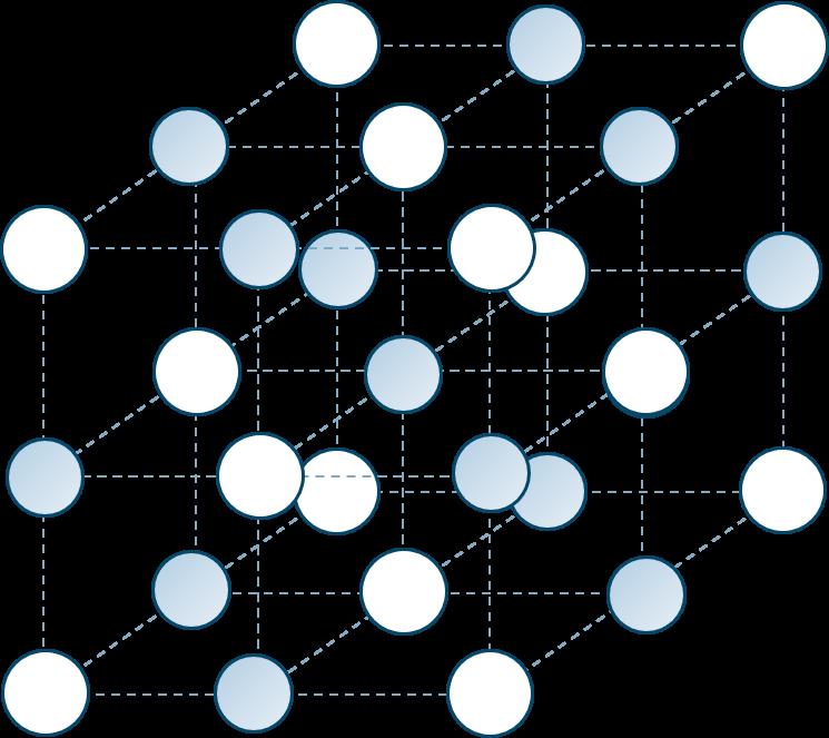 イオン結晶塩化ナトリウム型