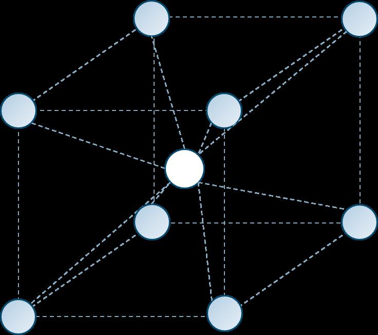 イオン結晶塩化セシウム型